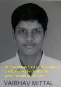Vaibhav Mittal-XII-2017-18