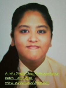 Ankita Singh-XI-2017-18