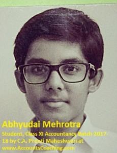 Abhuydai Mehrotra