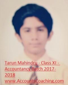 Tarun Mahindru-XI-2017-18